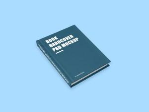 Free Hardcover Book Mockup PSD
