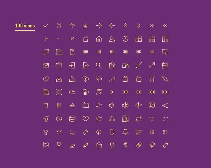 Polka : Free Dots Icon Set