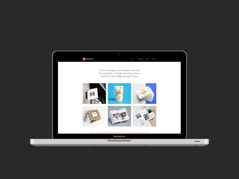 Popo : Free HTML5 Template for Freelancer