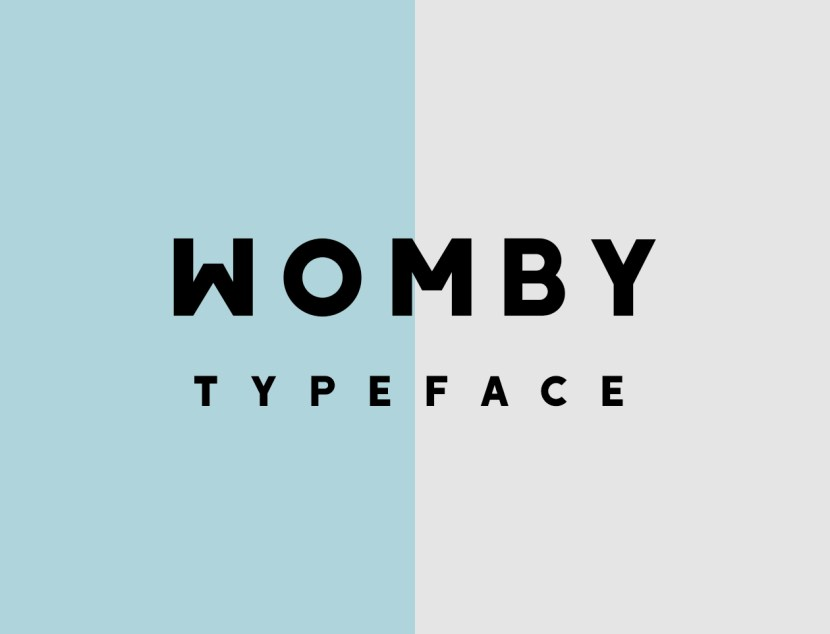 Womby Free Typeface