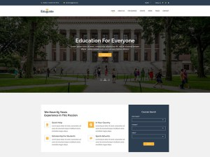 Eduguide : Free Education PSD Web Template
