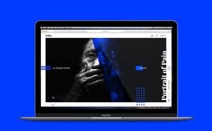free photography portfolio psd template