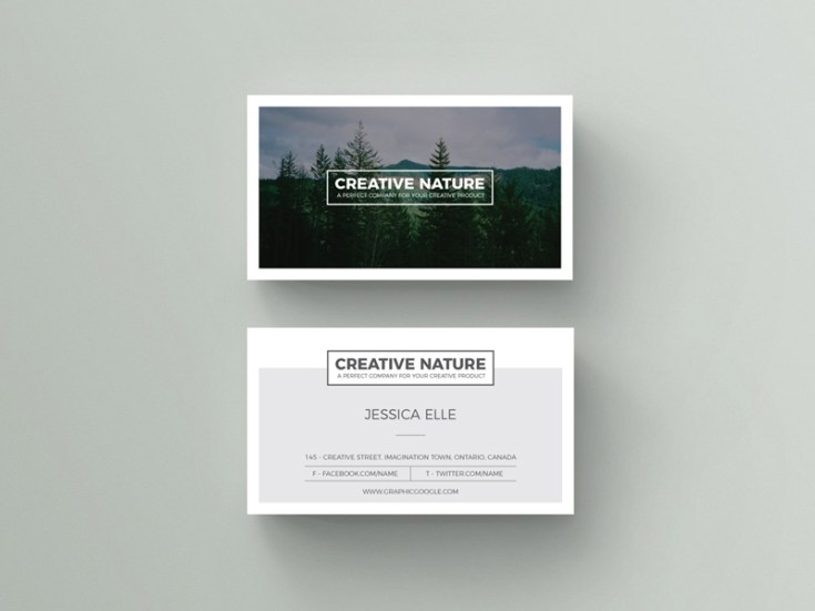 Art Business Card Template