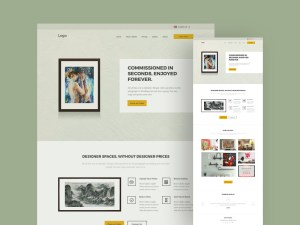 Art Ecommerce Template
