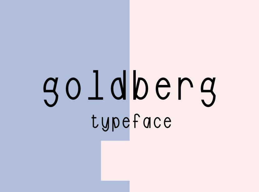 Goldberg Free Typeface