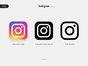 Free Instagram Logo PSD