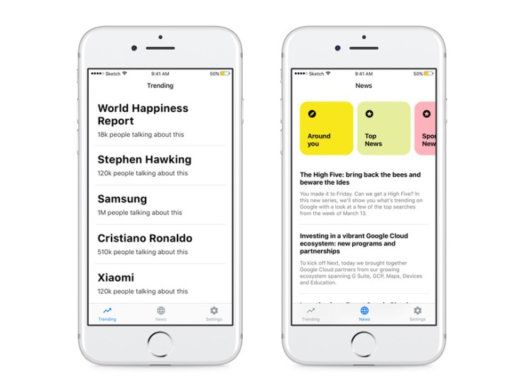 News App UI Template