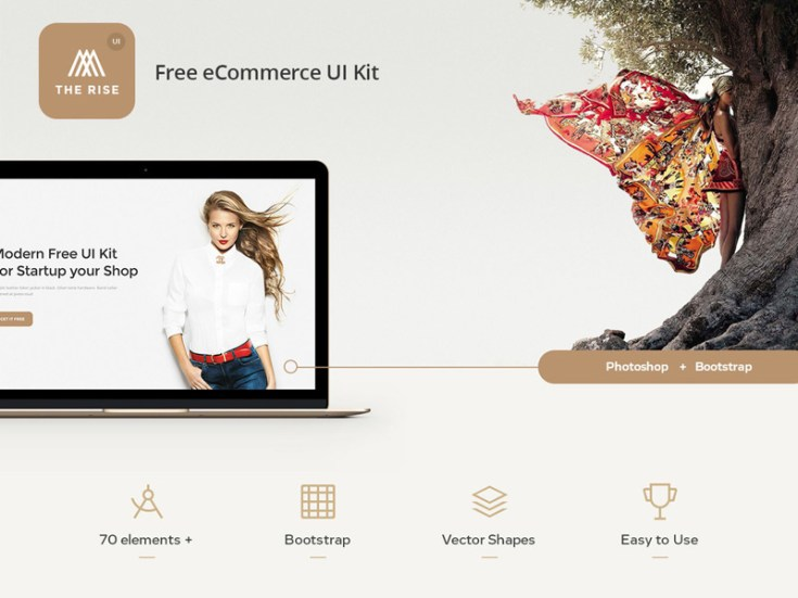 Rice Free Ecommerce UI Kit