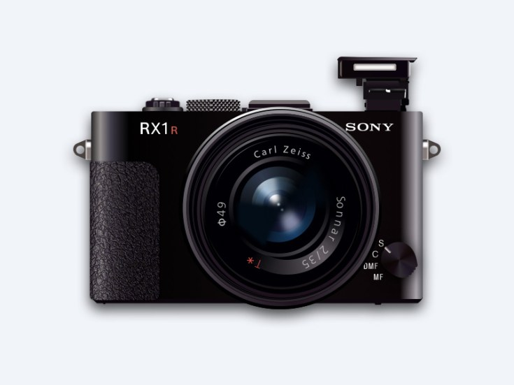 Sony RX1 Illustration (Sketch)