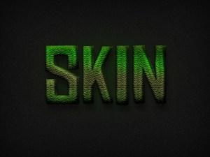 Dinosaur Skin Text Effect