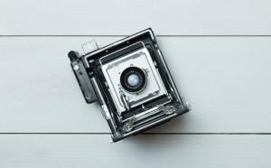Retro Camera Stock Photos Set