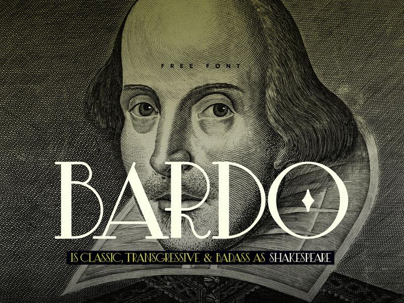 Bardo – Semi Serif Typeface