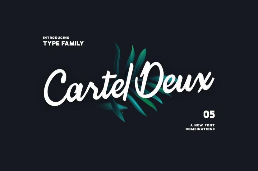 Cartel Deux – Sharp Style Font