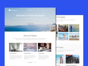 Courtyard Wordpress Theme