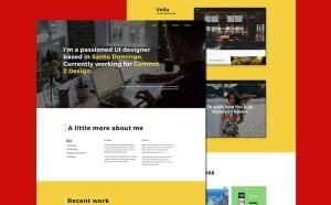 Designer Portfolio Website Template