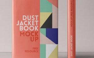 Free Dust Jacket Book Mockup