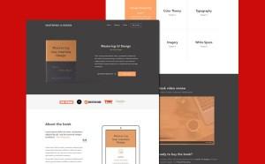 Ebook Landing Page Website Template
