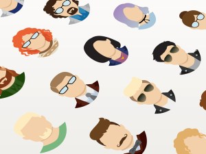 Free Flat Avatar Icon Set