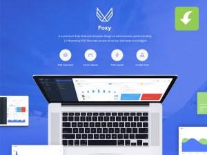 Foxy Admin Panel UI Kit