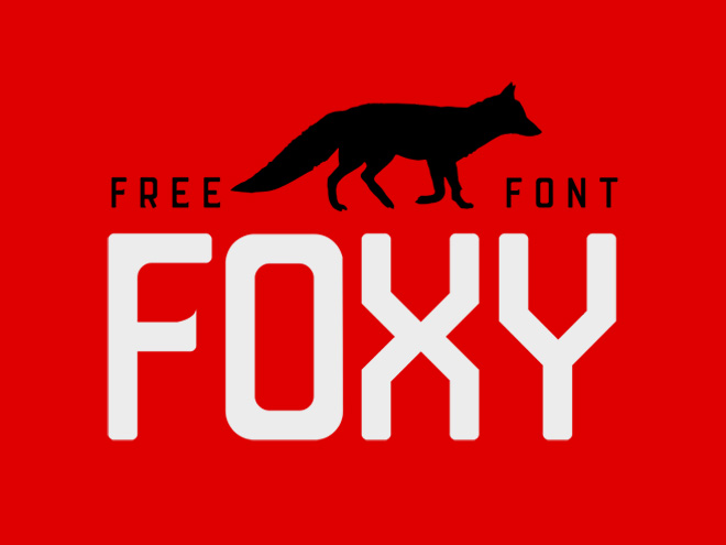 Foxy : Free Display-Sans Typeface