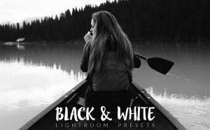 25 Free Black and White Lightroom Presets