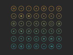 Free Circular Icon Set