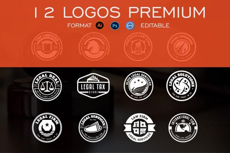 Free Law Logo Template