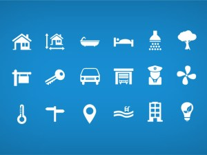 Free Real Estate Icons PSD