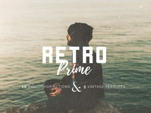 Free Vintage Prime Photoshop Action ATN Small