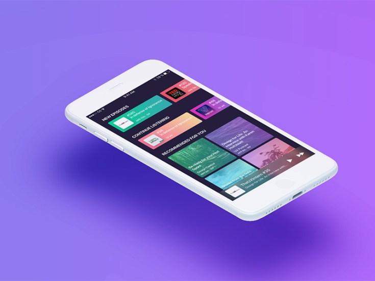 Podcast App UI Design