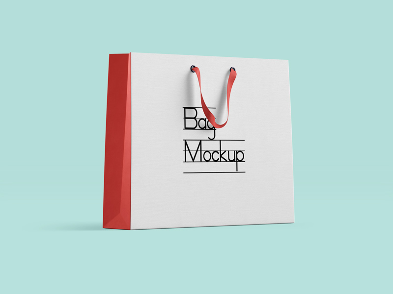 Professional Shopping Bag Mockup