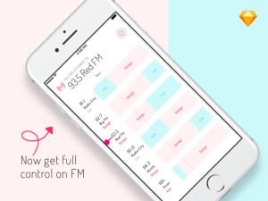 Radio FM App UI Template