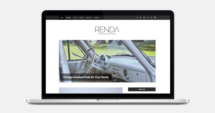 Renda : Travel Bootstrap Template