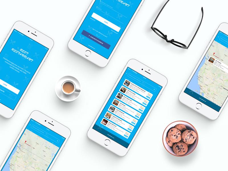 Restaurant Finder App UI