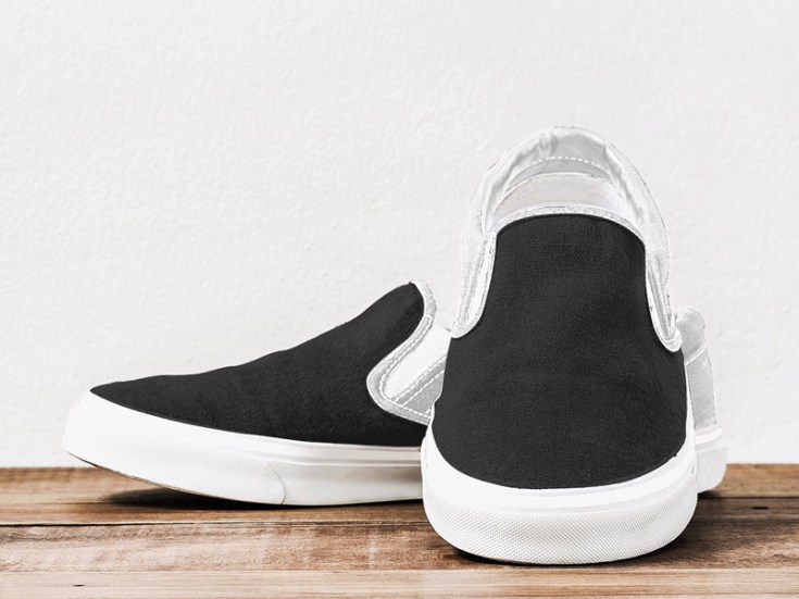 Free Slip on Shoes Mockup