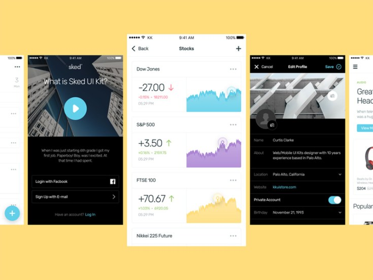 Sked UI Kit