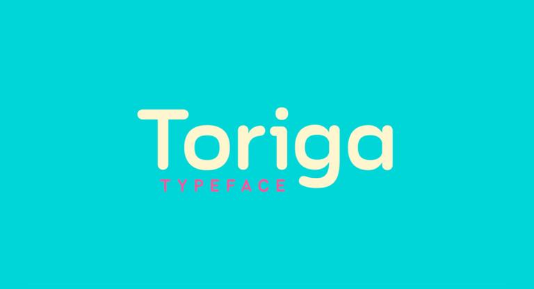 Toriga Free Font