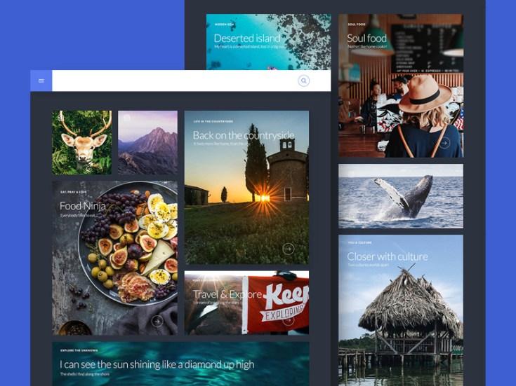 Travel Blog Website Template