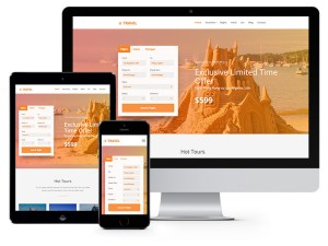 Free Travel Bootstrap Template