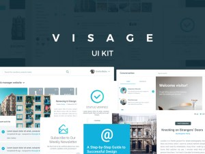 Visage UI Kit PSD