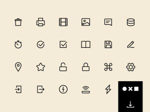 100 Free Vector UI Icons