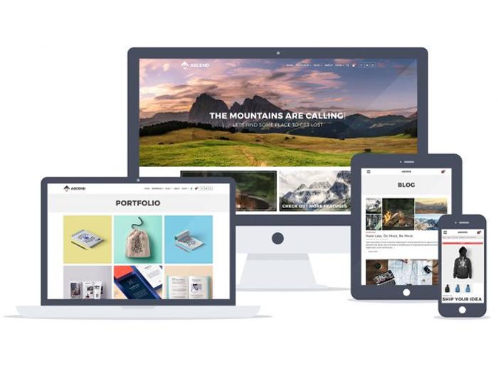 Ascend – Free Multipurpose WordPress Theme