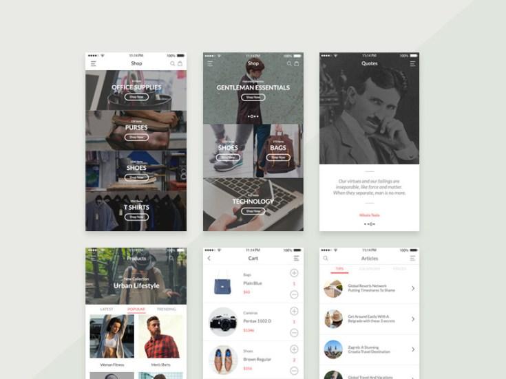 Balkan Mobile UI Kit