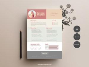Free Elegant Resume Template