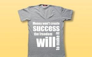 Free V-Neck T-Shirt Mockup