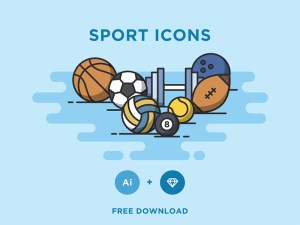 Free Vector Sport Icon