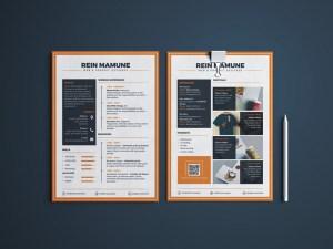 Minima - Free Resume Templates PSD