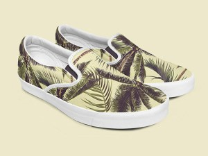Free Slip-on Shoes Mockup PSD