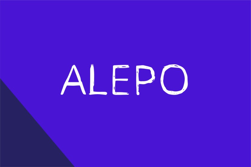 Alepo – Free Rough Sketch Font