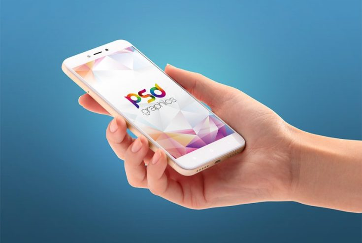 Free Android Smartphone Mockup PSD